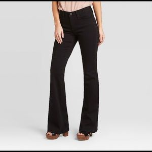 Dark Navy Blue Flair Pants